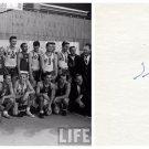 1952 Olympics Basketball Silver ILMAR KULLAM  Orig Autograph 1980s