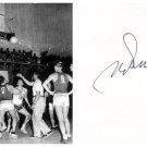 1952 Olympics Basketball Silver HEINO KRUUS  Orig Autograph 1980s