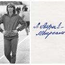 1976 Olympics T&F Long Jump Bronze LIDIYA ALFEYEVA Orig Autograph 1980s