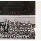 Ice Hockey 1950 Stanley Cup Winner LEE FOGOLIN Sr Orig Autograph 1960s