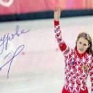 2006 Turin Olympics Speed Skating Gold SVETLANA ZHUROVA Hand Signed Photo 4x6