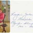 1952 Helsinki Olympics T&F 100m & 200m Gold MARJORIE JACKSON Orig Autograph 1980s