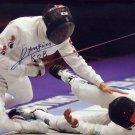 2020 Tokyo Olympics Fencing Bronze KWEON YOUNG-JUN Hand Signed Photo