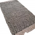 Leather Rug for Fireplace Fireproof Carpet WHITE BLACK Hearth Fire Resistant Mat Rug