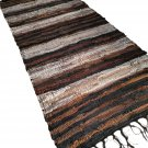 Leather Rug for Fireplace Fireproof Carpet BROWN GRAY Hearth Fire Resistant Mat Rug