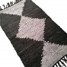 Leather Rug for Fireplace Fireproof Carpet GEOMETRIC Hearth Fire Resistant Mat Rug