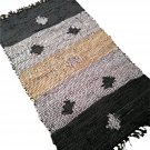 Leather Rug for Fireplace Fireproof Carpet STARS Hearth Fire Resistant Mat Rug