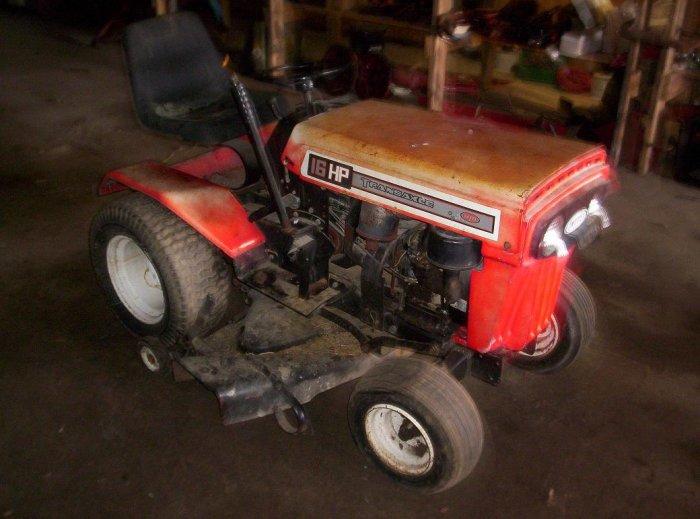 Mtd 960 Garden Tractor W Snow Blade