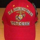 MARINE CORPS VETERAN (RED) HAT