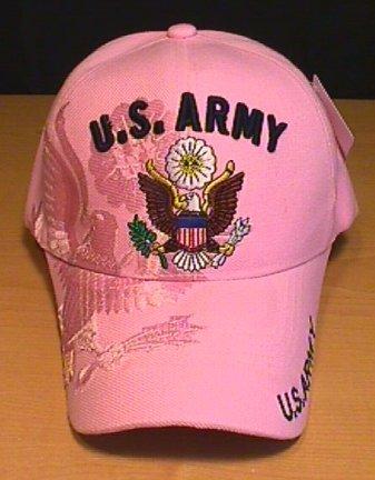 ARMY  LADIES SHADOW CAP - PINK