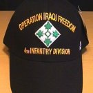 4TH INFANTRY DIVISION IN OPERATION IRAQI FREEDOM CAP