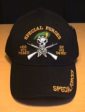 """SPECIAL FORCES """"MESS WITH THE BEST"""" CAP"""