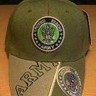 ARMY DOUBLE LOGO CAP W/ 2-TONE BILL #2