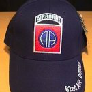82ND AIRBORNE CAP - NAVY BLUE