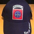 82ND AIRBORNE CAP - NAVY BLUE