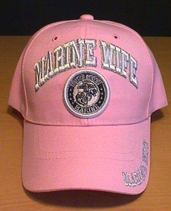 MARINE WIFE CAP - PINK