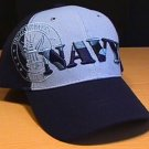 NAVY CAMO TEXT SHADOW CAP #2