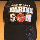 PROUD TO HAVE MARINE SON CAP