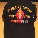 MARINE 2ND DIVISION IN DESERT STORM CAP