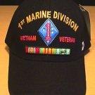 MARINE 1ST DIVISION IN VIETNAM CAP