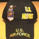 AIR FORCE SPLIT CROWN LOGO - BLACK