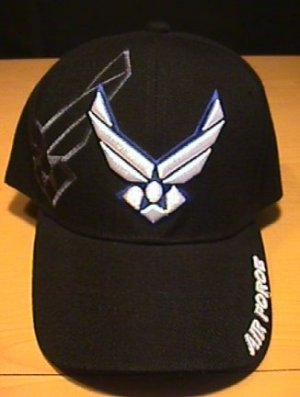 AIR FORCE WINGS LOGO CAP W/SHADOW EMBROIDERY