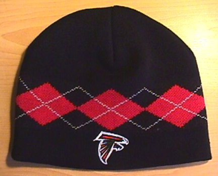 ATLANTA FALCONS ARGYLE BEANIE