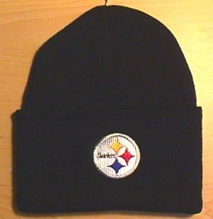 PITTSBURGH STEELERS WINTER KNIT - BLACK