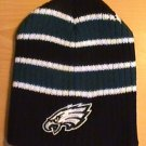PHILADELPHIA EAGLES BEANIE W/LARGE STRIPES