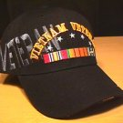VIETNAM VETERAN CAP WITH VETERAN SHADOW TEXT