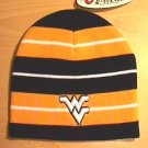 WEST VIRGINIA MOUNTAINEERS STRIPED BEANIE