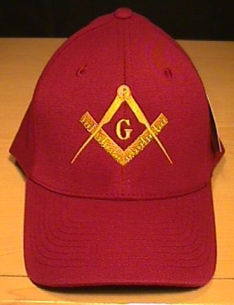MASON #2 LOGO FLEXFIT CAP - MAROON