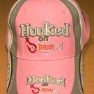 HOOKED ON JESUS CAP W/ACCENTS - PINK