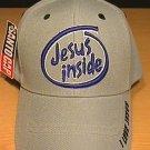 JESUS INSIDE CAP - GRAY