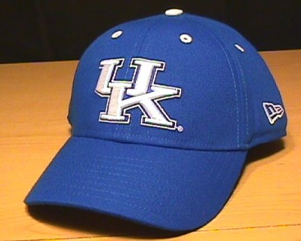 KENTUCKY WILDCATS NEW ERA FITTED CAP - SIZE 6 7/8