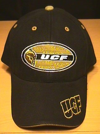 UCF GOLDEN KNIGHTS OVAL LOGO CAP