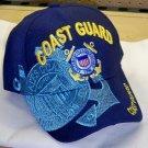 COAST GUARD BLUE SHADOW HAT - NAVY