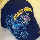 COAST GUARD YOUTH SIZE HAT - NAVY W/BLUE SHADOW