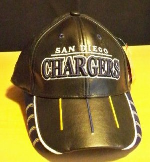 NFL LEATHER HAT - SAN DIEGO CHARGERS