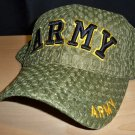 ARMY TEXT SUMMER MESH CAP - OLIVE GREEN