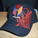 VIETNAM VETERAN SHADOW CAP #1 - BLACK