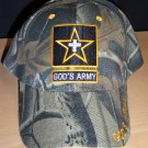 GOD'S ARMY CHRISTIAN CAP - CAMO