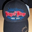 KING OF KINGS ~ JOHN 19:19 CHRISTIAN CAP - BLACK