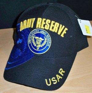 ARMY RESERVE CAP - BLACK W/BLUE SHADOW
