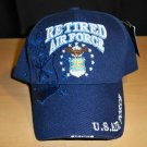 AIR FORCE RETIRED CAP W/SHADOW #2- NAVY