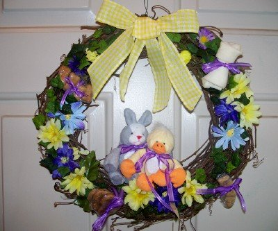 Floral Wreath Gift for Dog Lover