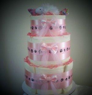 Itty Bitty Kitty Kitten Shower Centerpiece Gift Cake