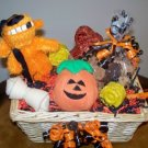 Witchy BowWow Halloween Gift Basket for Dog