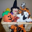 Scaredy Dog Halloween Gift Basket for Dog