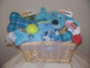 A MAXimum Puppy Gift Basket